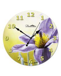 """Часы Династия 01-023 """"Фиолетовый цветок"""""""