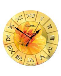 "Часы Династия 01-021 ""Желтый цветок"""