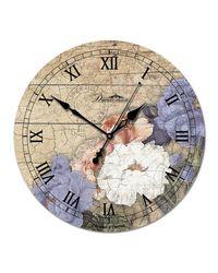 "часы Династия 02-009 ""Цветы 1"""
