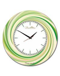 """Часы Династия 01-038 """"Зеленый калейдоскоп"""""""