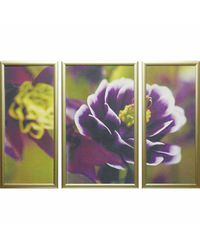 """Модульная картина Династия 06-004-01 """"Фиолетовые цветы"""""""