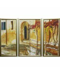 """Модульная картина Династия 06-006-01 """"Осень в Венеции"""""""