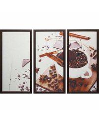 """Модульная картина Династия 06-031-03 """"Кофе с корицей"""""""