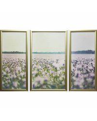 """Модульная картина Династия 06-012-01 """"Цветущее поле"""""""