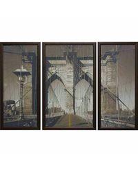 """Модульная картина Династия 06-018-01 """"Бруклинский мост"""""""