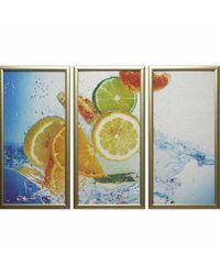 """Модульная картина Династия 06-036-03 """"Лимоны"""""""