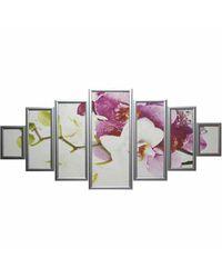 """Модульная картина Династия 06-077-05 """"Орхидея"""""""