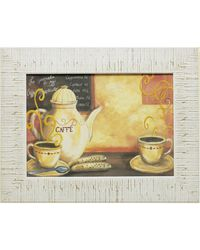 """Дизайнерская картина из песка Династия 05-003-04 """"За чашечкой кофе"""""""