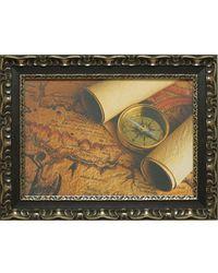"""Дизайнерская картина из песка Династия 05-005-07 """"Остров сокровищ"""""""