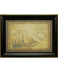 """Дизайнерская картина из песка Династия 05-007-02 """"Морская экспедиция"""""""