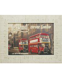 """Дизайнерская картина из песка Династия 05-008-04 """"Экскурсия по Лондону"""""""