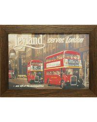 """Дизайнерская картина из песка Династия 05-008-05 """"Экскурсия по Лондону"""""""