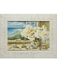"""Дизайнерская картина из песка Династия 05-009-04 """"Летний домик у моря"""""""