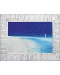 """Дизайнерская картина из песка Династия 05-022-04 """" Морской пляж"""""""