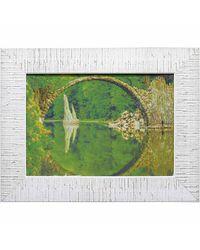 """Дизайнерская картина из песка Династия 05-036-04 """"Речная арка"""""""