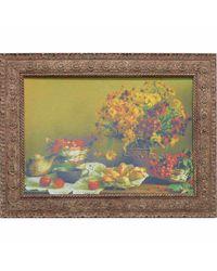 """Дизайнерская картина из песка Династия 05-038-08 """"Осенний натюрморт"""""""