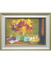 """Дизайнерская картина из песка Династия 05-041-03 """"Осенний букет"""""""
