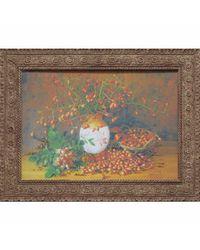 """Дизайнерская картина из песка Династия 05-044-08 """"Плоды шиповника"""""""
